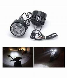 Hjg Fog Lights Hjg 6 Led Fog Light For Two Wheelers Bright White Buy