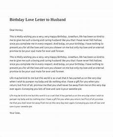 A Love Letter To My Husband Sample Love Letters To My Husband 7 Examples In Word Pdf