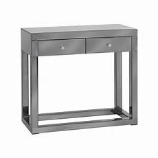 Mirror Sofa Table Png Image by Luxor Smoked Glass Mirror Console Table Forever