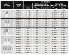 Exterior Door Sizes Chart Doors Sizing Amp Configurations Entry Doors Vinylguard