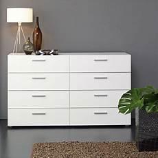 white modern bedroom 8 drawer dresser hearts