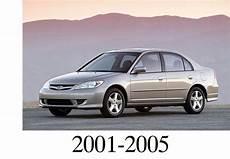 Pay For Honda Civic 2001 2005 Service Repair Manual Download