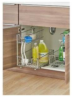 in cabinet pull out storage organizer sink sliding