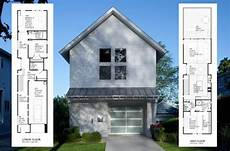 designs for narrow lots time to build