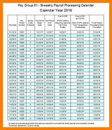 2020 Payroll Calendar Template Bi Week Friday Payroll Schedule 2020 Template Calendar
