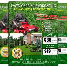 Lawn Mower Flyers Lawn Care Flyer Design 8 The Lawn Market