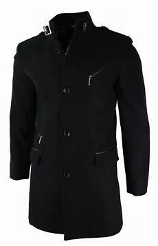 slim fit coats for black mens slim fit wool 3 4 overcoat jacket style high
