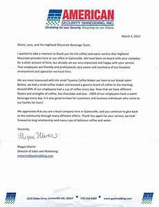 Letter Of Appreciation To Customer 10 Free Sample Appreciation Letters Samplebusinessresume