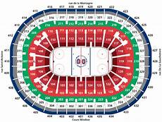 Bell Center Seating Chart Breakdown Of The Bell Centre Seating Chart Montreal