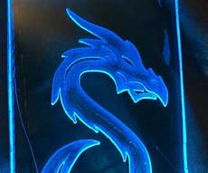 Blue Night Light For Bearded Dragon Glowy Blue Dragon Night Light 5