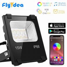 Flood Light App Rgb Led Floodlight 15w Bluetooth4 0 App Group Control