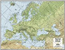 Geographic Map Europe Physical Atlas Of The World 10th Edition By