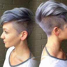 kurzhaarfrisuren frauen mit cut shaggy spiky choppy curls layered pixie hair