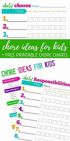 Where To Buy Chore Charts Free Printable Chore Charts Chore Ideas For Kids Get
