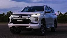 mitsubishi pajero sport 2020 news mitsubishi reveals facelifted pajero sport for 2020