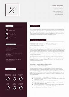 Cv Layout Templates 13 Slick And Highly Professional Cv Templates Guru