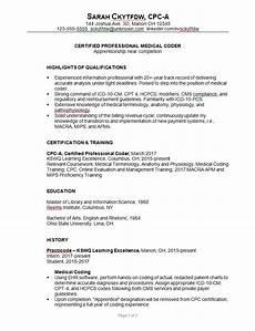 Medical Coding Resume Format Combination Resume Sample Medical Coder C Susan Ireland 1