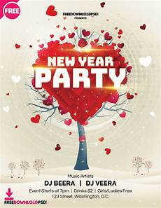 New Years Template Free New Year Party Flyer Template Freedownloadpsd Com