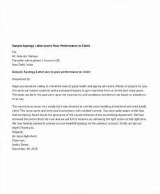 Apology Letter To Customers Apology Letter Templates In Word 26 Free Word Pdf