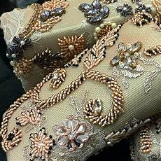 beadwork detail embellishment couture embroidery
