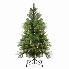 How To Check Lights On A Pre Lit Christmas Tree 4 Ft Pre Lit Artificial Noble Fir Christmas Tree Noble