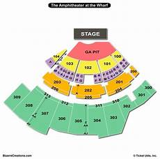 The Wharf Amphitheater Seating Chart The Wharf Amphitheatre Seating Chart Seating Charts