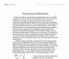 Causes And Effects Of Global Warming Essay Essay On Global Warming Write My Custom Paper