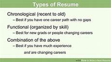 How To Write A Resum How To Write A Neat Resume 13 Steps With Pictures Wikihow