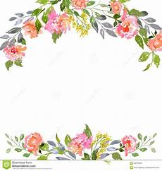 Flower Design For Cards Watercolor Floral Card Template Floral Cards Floral
