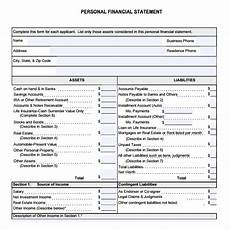 Small Business Financial Statements Examples Free 7 Sample Financial Summary Templates In Pdf