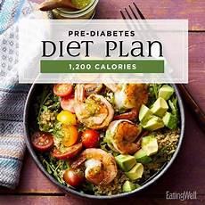 pre diabetes diet plan 1 200 calories eatingwell