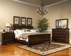 Oak Bedroom Furniture Sets Creek Vintage Oak Sleigh Bedroom Set From Fairmont