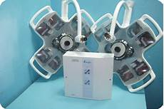Surgical Light System Alm 43163 Ceiling Mount Exam Surgical Lighting System O