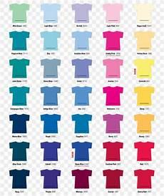 Gildan Shirt Color Chart T Shirt Gildan Activewear Color Chart Top Png 876x1050px