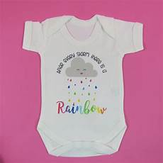 Miracle Baby Designs After Every Storm There Is A Rainbow Baby Vest Miracle