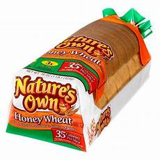 Light Wheat Bread Calories Natures Own Light Honey Wheat 16 Oz Target