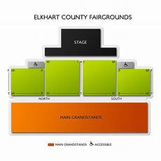 Sonoma County Fairgrounds Seating Chart Elkhart County Fairgrounds Seating Chart Vivid Seats