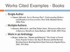 Works Cited Multiple Authors Mla Mla Citation Multiple Authors Et Al