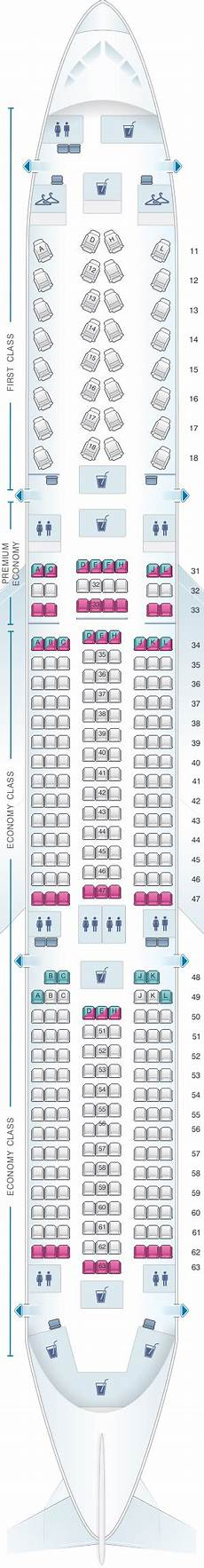 Airbus A350 900 Seating Chart Seat Map Air China Airbus A350 900 Seatmaestro