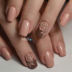 Light Brown Nail Color 55 Stylish Brown Nail Art Ideas