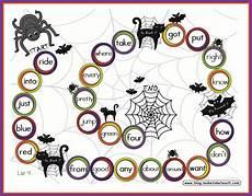 Halloween Themed Words Halloween Themed Game Boards Make Take Amp Teach