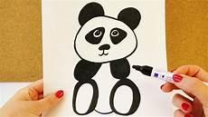 wie zeichnet einen panda niedlicher pandab 228 r zum