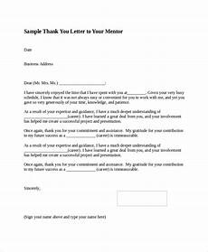 Sample Thank You Business Letters Free 8 Sample Thank You Letter Formats In Ms Word Pdf