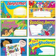 Child Award Certificate School Certificates 30 Variety Pack For Younger Children