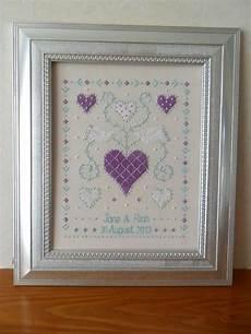 Free Wedding Cross Stitch Patterns Charts 25 Best Wedding Anniversary Cross Stitch Images On