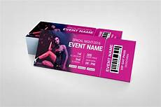 Tickets Design Party Event Ticket Design Template 001979 Template Catalog