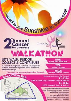 Walk A Thon Posters 2nd Annual Walkathon Poster