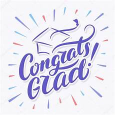 Congratulations Graduate Banner Congrats Grad Congratulations Graduate Banner Stock
