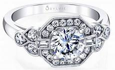sylvie s ring of the month is a vintage inspired
