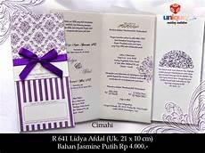 undangan pernikahan r641 unique card wedding invitation